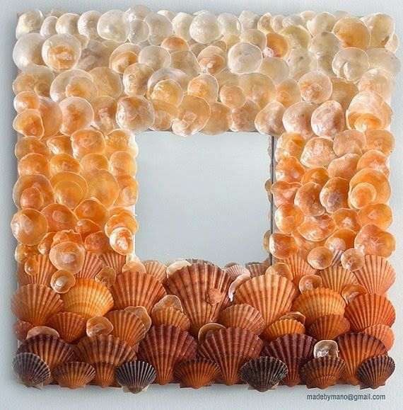 323 best beach crafts images on pinterest shells mermaids and summer is the ideal time to gather sea shells and barnacles these materials that nature solutioingenieria Gallery