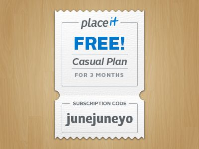 Placeit Coupon 3 months by Placeit