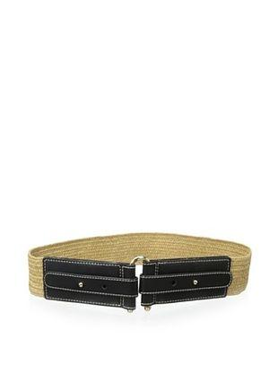 46% OFF J. McLaughlin Women's Savannah Elastic Belt (Black)