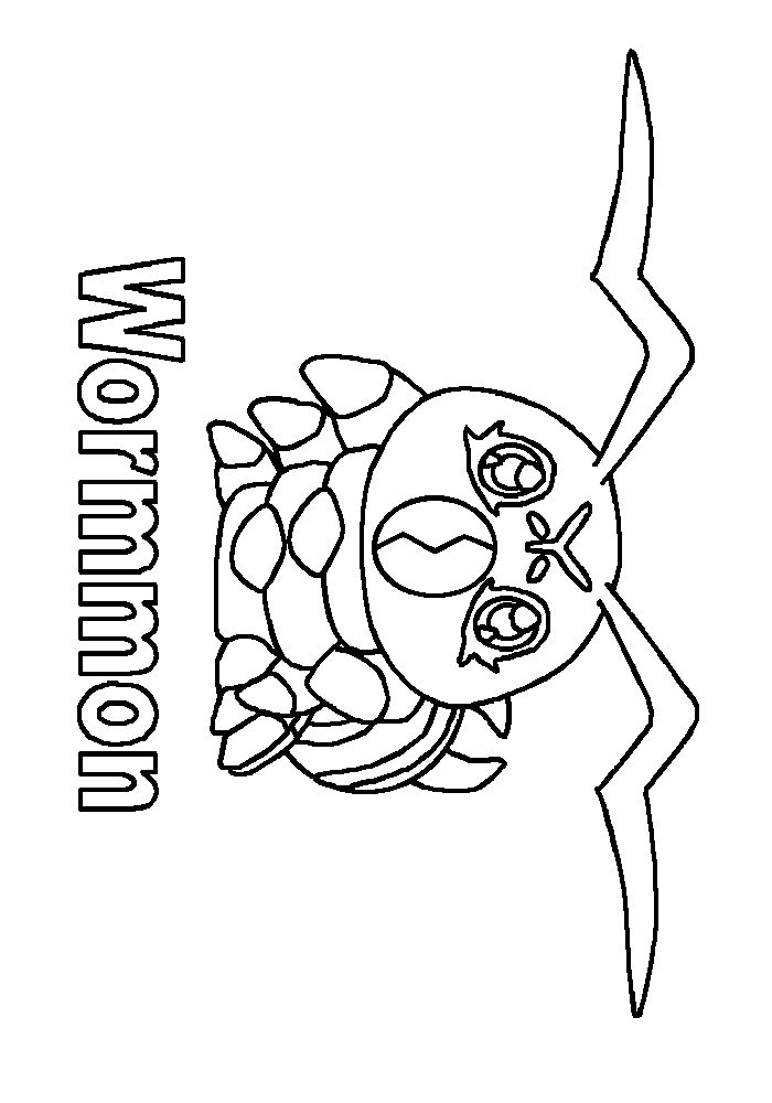 tanemon coloring pages - photo #13