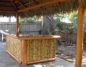 104 best images about tiki bar ideas on pinterest bamboo furniture tiki totem and bar shed - Bamboo bar design ideas ...