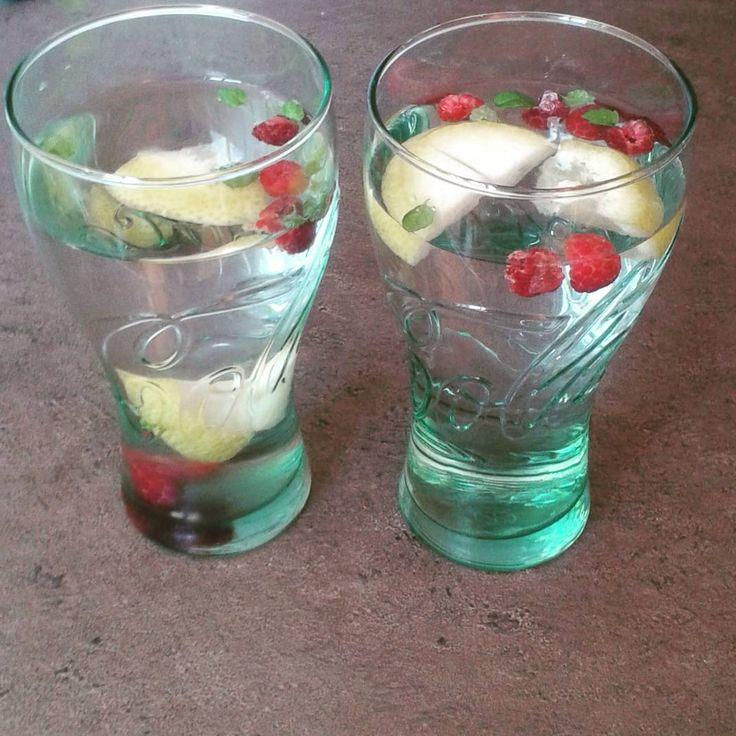 Refreshing drinks  #raspberry#lemon#mint #befabulous #photo #brno #frech #instagram #great#happy #Body#love#beuty #health#fitness#healthylifestyle#lifestyle#food