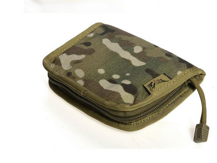 Free shipping In stock FLYYE genuine MOLLE MID NECK Wallet Military camping hiking modular combat CORDURA PH-A025