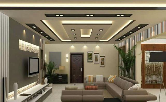 20 Cool Ceiling Design Ideas For Living Room In Your Home