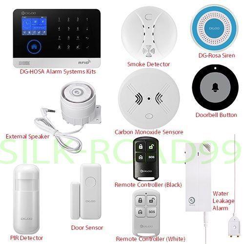 NEW DIGOO 433MHz Wireless Accessor Smart Burglar Halloween Home Security Alarm  #DIGOO