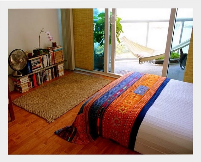 india-inspired bedroom