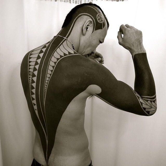30 Extreme Blackout Tattoos - Girly Design Blog