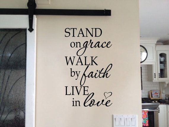 Foyer Art Quotes : Ideas about christian wall decals on pinterest