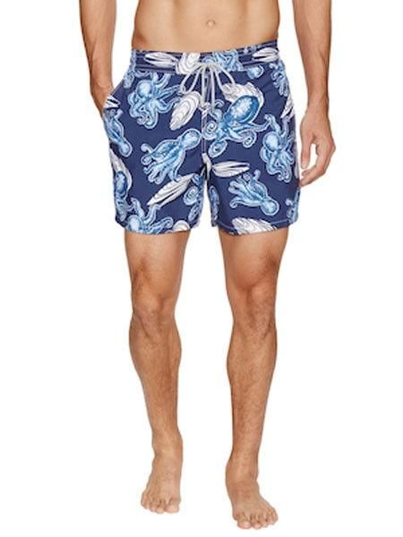 1adcc38c2323b NWT VILEBREQUIN Moorea octopus clam swim trunks shorts swimsuit France
