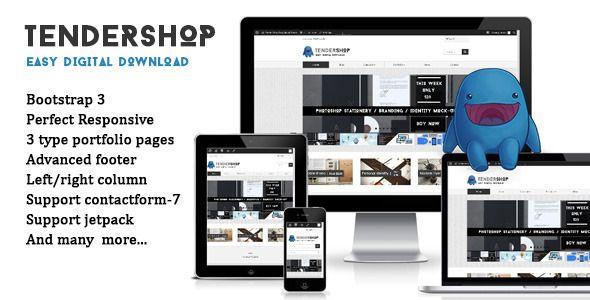 Tendershop - Easy Digital Download store