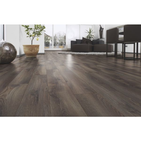 Grey Oak Laminate White Walls Home Decor Grey