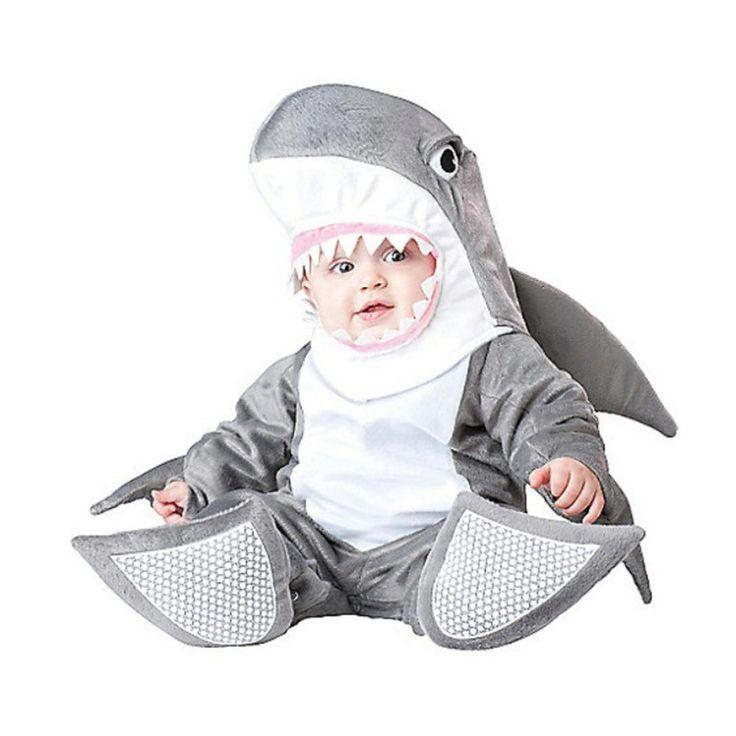 Cartoon Jumpsuit Infant Baby Shark Anime Halloween Cosplay Costume