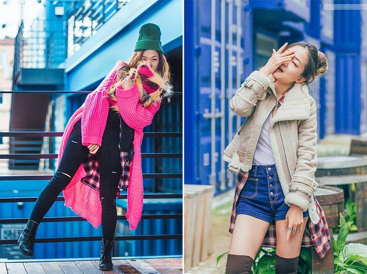 [Korean fashion] Корейская мода зимой