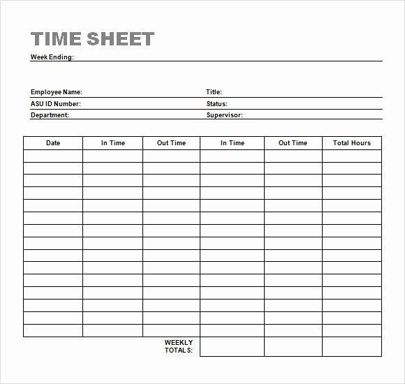 Work Hours Log Sheet Luxury Sample Time Sheet 23 Example Format