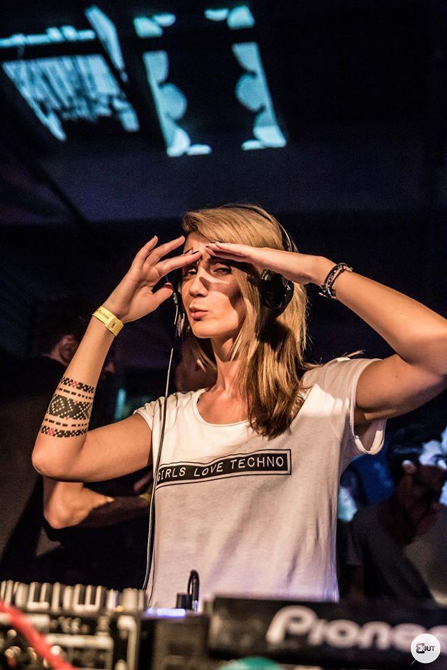Nusha - Girls Love Techno - BlackOut Timisoara   https://www.youtube.com/watch?v=W_UOgTK9MCA