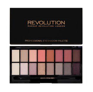 Makeup Revolution - Paleta de sombras de ojos - New-Trals vs Neutrals