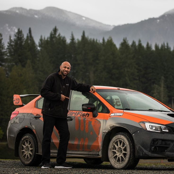Hank Baskett Sliding into DirtFish