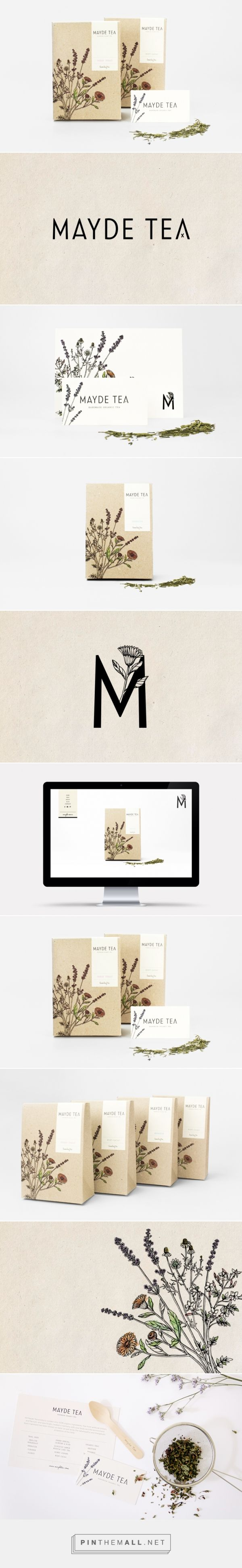 Mayde Tea Branding and Packaging by Smack Bang Designs | Fivestar Branding Agency – Design and Branding Agency & Curated Inspiration Gallery