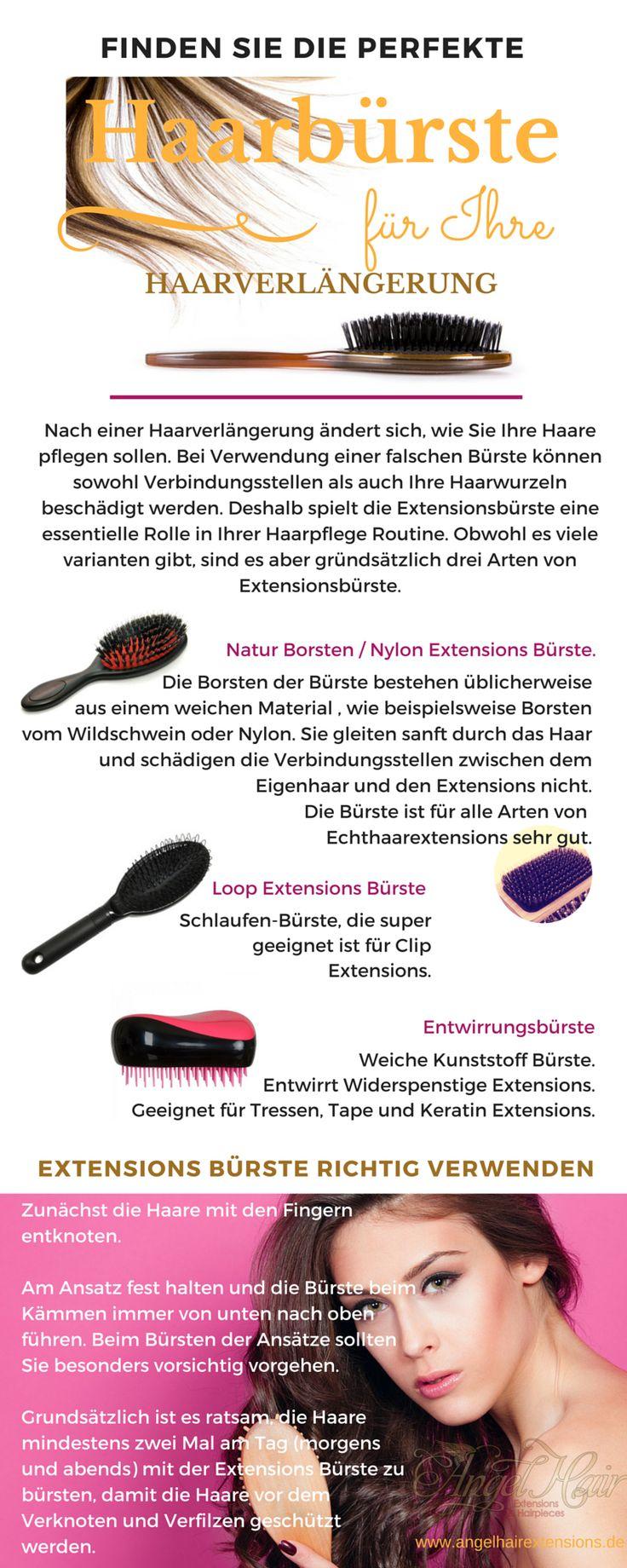 #www.angelhairextensions.de #infographic #extensionsbürste #luxury  #Einfache #Pflegetipps für #Echthaar #sewin  #Hair #weave  #how to care for my weave #Haarverlängerung #Angel #Hair #Extensions #Tressen #was ist #weaving #sew-in