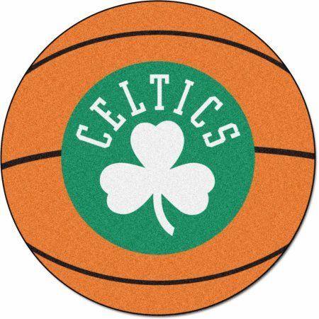 NBA Boston Celtics Basketball Mat, Orange