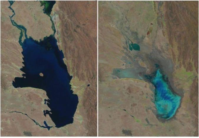 Lago #Poopó en #Bolivia,  En tiempo récord desapareció por el cambio climático, el desvío de agua y la falta de políticas ambientales.