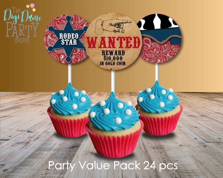 Rodeo Cowboy Party Pack