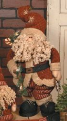 Primitive Santa Claus Decor from Primitive Country Home Decors