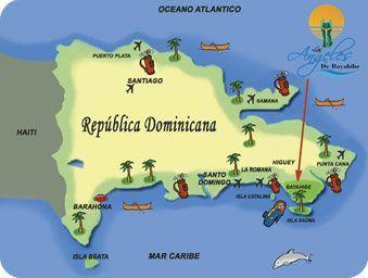 Republica Dominicana Map