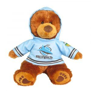 Titans Plush Toys Supporter t-shirts with hood printed with team colours and logos