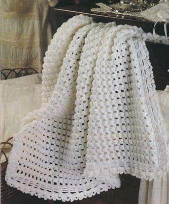 Mantitas para bebe tejidas a crochet | Solountip.com