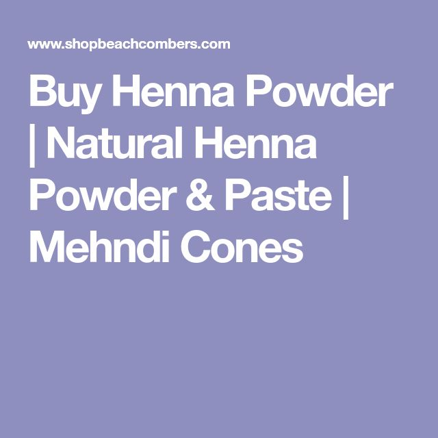 Buy Henna Powder | Natural Henna Powder & Paste | Mehndi Cones