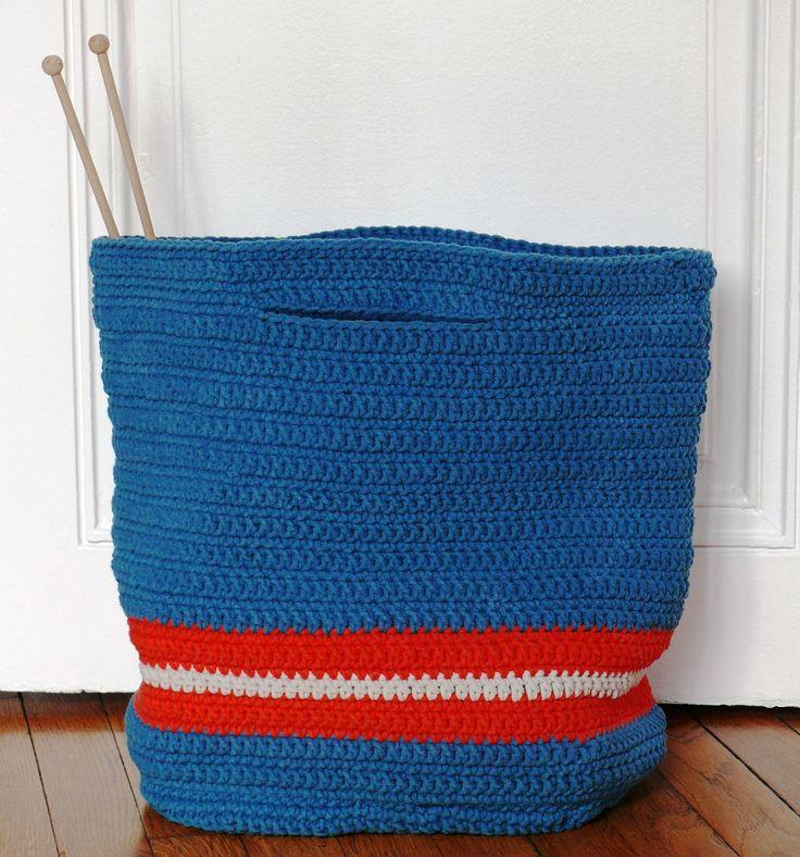 Cabas crochet
