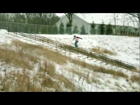 """urban snowboarding: """"real snow mix"""" for x-games"""