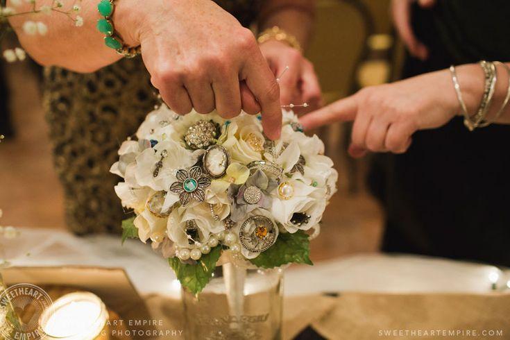 Fantasy Farm - broach bouquet #sweetheartempirephotography
