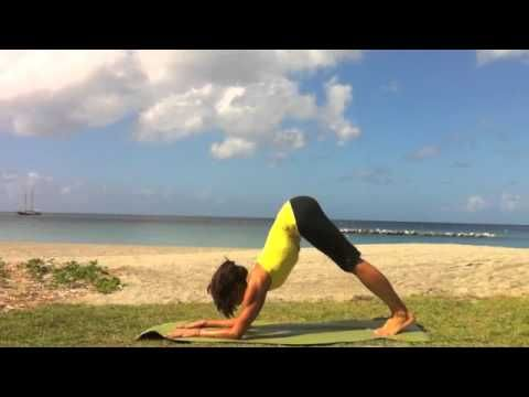 Forearm hanstands - seriously the BEST thing I've learned to help strengthen my shoulders.