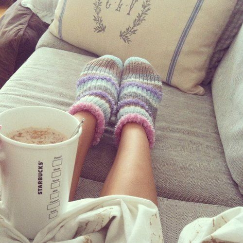 Limitless days of comfy socks and Starbucks hot cocoa would make me the happiest person alive