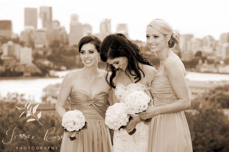 Ash & Rob @ Jessie Rose Photography #springwedding #wedding #photography #weddingphotography #jessierosephotography #bride #groom #sydney #kiss #australia #observatoryhill #springwedding #spring #bridalparty #bridesmaids #sepia #laughter