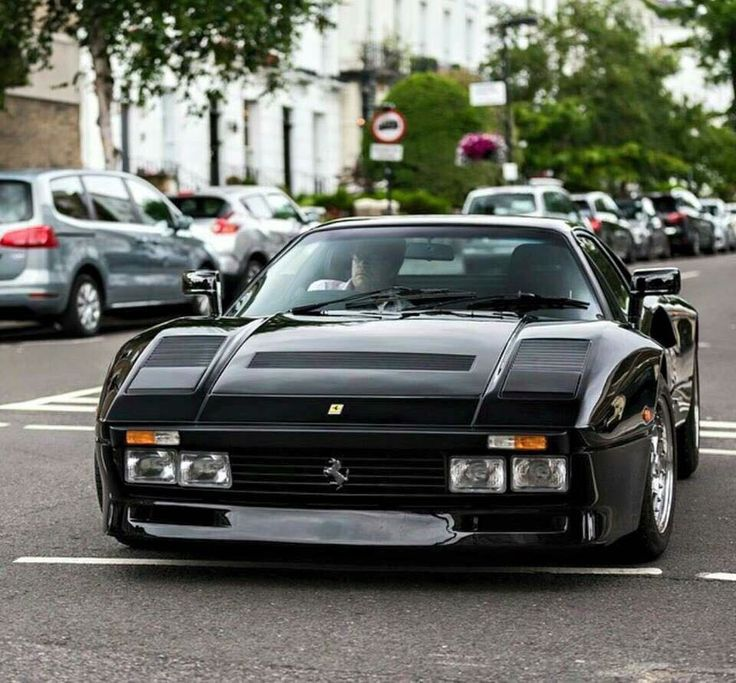 """fabforgottennobility: """" bikesandcars: """"Ferrari 288 GTO """" Legend """""""