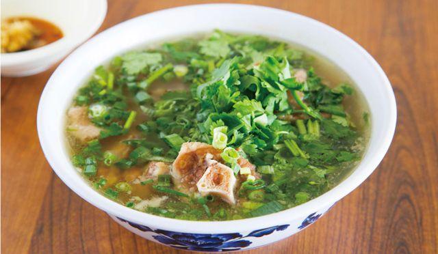 帰国前、お疲れの胃に。<br />オックステールスープの美味しい食べ方。