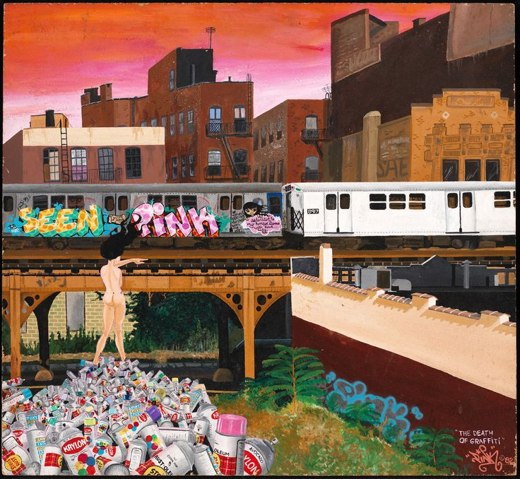 City as Canvas: New York City Graffiti from the 70s & 80s | Indianapolis Museum of Art | October 2017