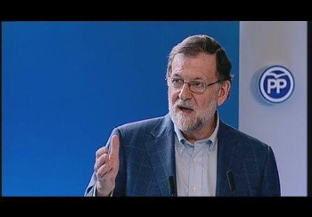 Rajoy alerta sobre quien promete, con cheques sin fondos, cosas que no cumplirá