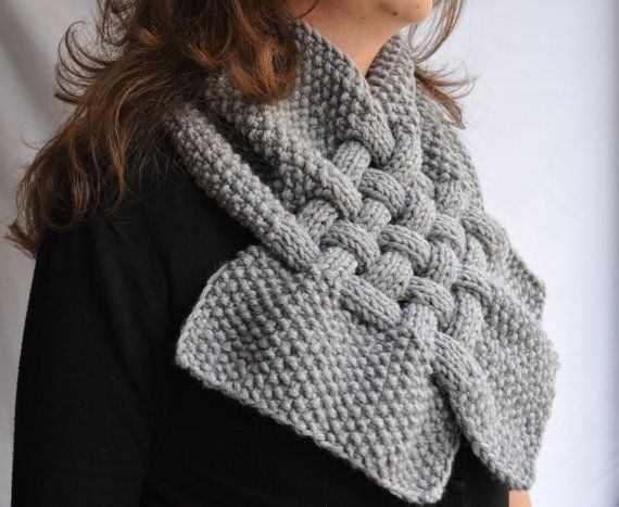 Check out this item in my Etsy shop https://www.etsy.com/listing/64186608/etsy-free-shipping-gray-scarf
