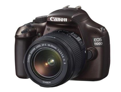 Canon Spiegelreflexkamera EOS 1100 D + EF-S 18-55 IS II für 299 Euro
