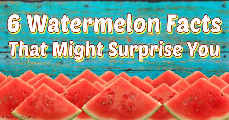 Did you know that watermelon has more lycopene than raw tomatoes? Read more watermelon facts here. http://articles.mercola.com/sites/articles/archive/2014/07/21/watermelon-nutrition.aspx