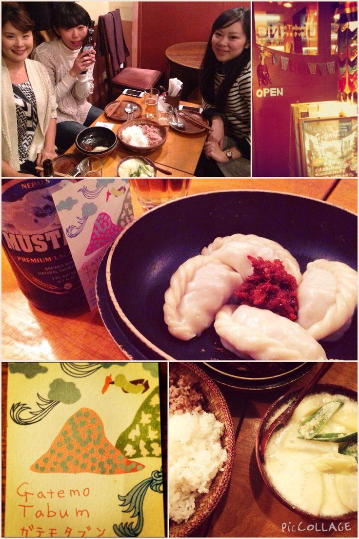 ブータン料理 @ガテモタブン