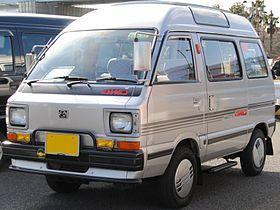 Subaru-Sambar Fourth generation (1982-1990)