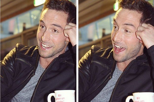 """<b>Måns Zelmerlöw's song """"Heroes"""" is tipped to win Eurovision and he's insanely handsome.</b>"""