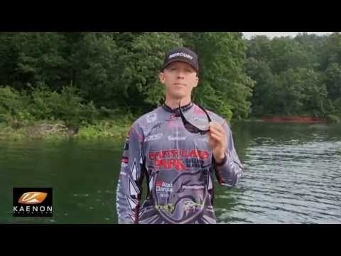 Professional angler Kevin Hawk talks about Kaenon sunglasses and about picking the right color lens for conditions on the water. Kevin wears #Kaenon Hard Kore Sunglasses.