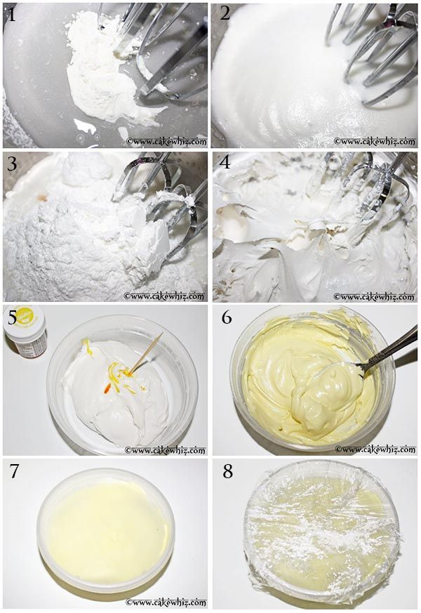 how to make royal icing whith MP  ( + light corn syrup )
