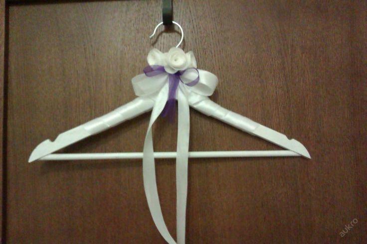 Ramínko svatební,slavnostní, dekorace fialová